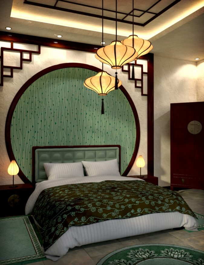 Top 10 asian interior design ideas expected to rock 2018 for Bedroom inspiration oriental