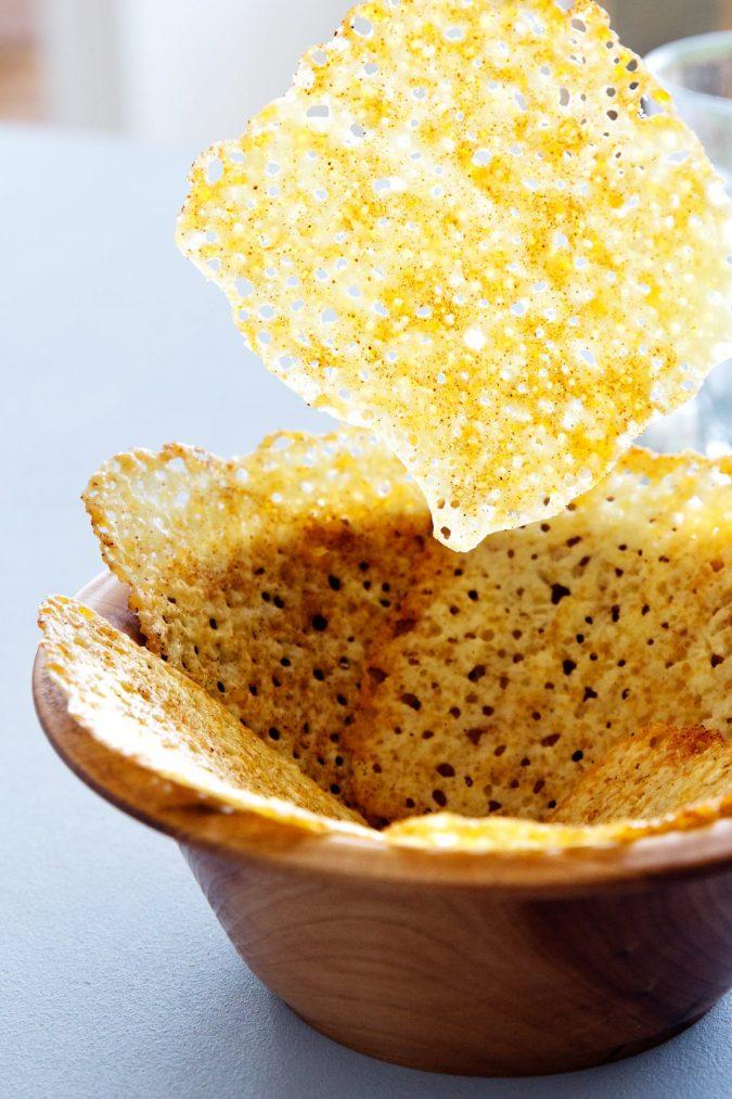 Cheese Crisp Delicious Keto Snacks