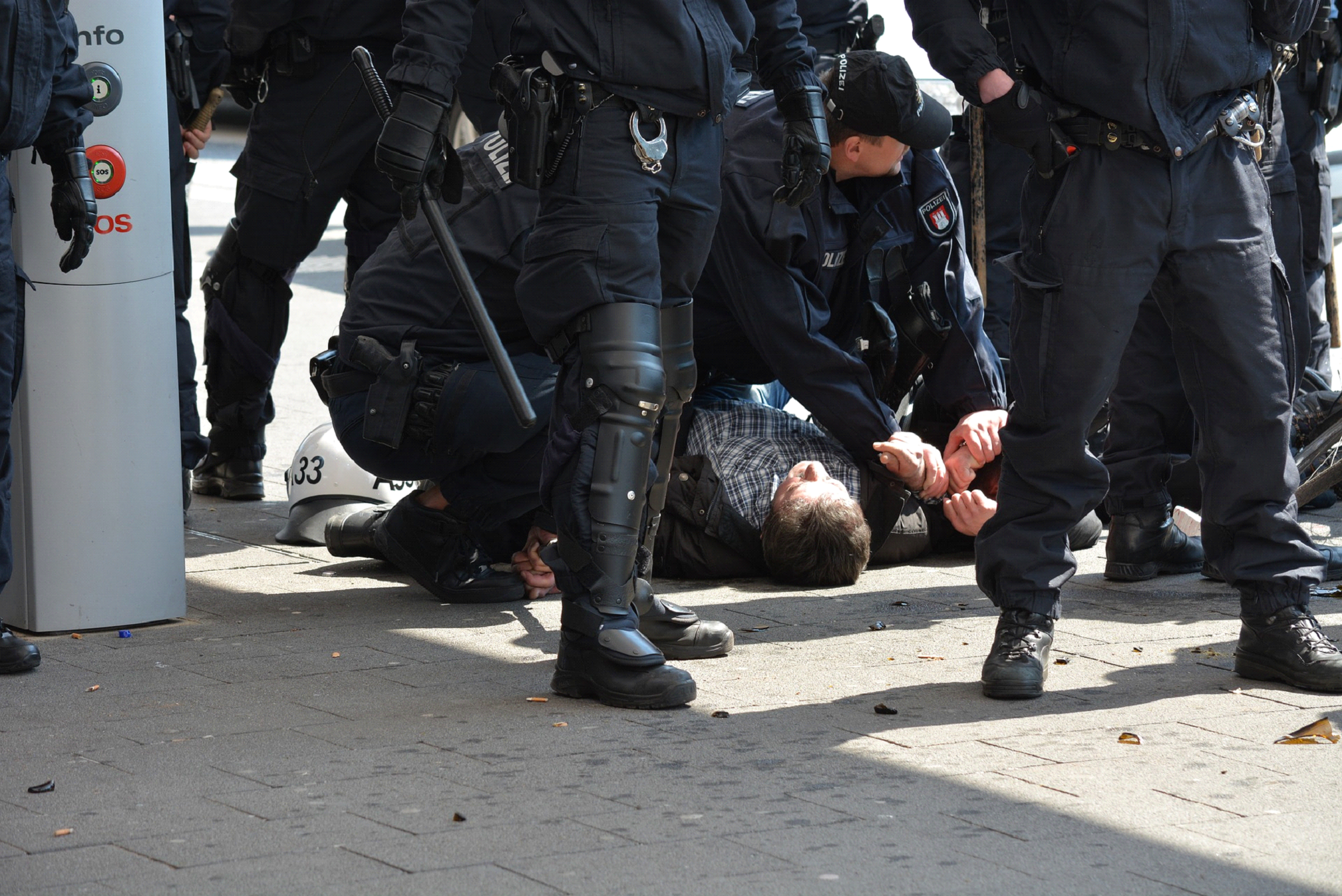 Photo of Top Injuries Related to Police Arrests