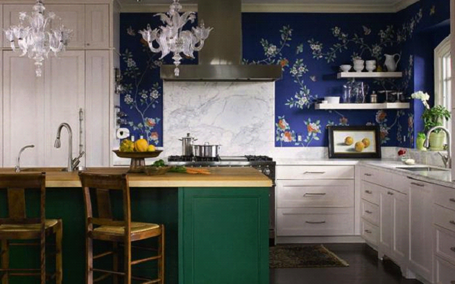 Photo of Top 9 Ways to Spice Up Your Kitchen with a Wallpaper