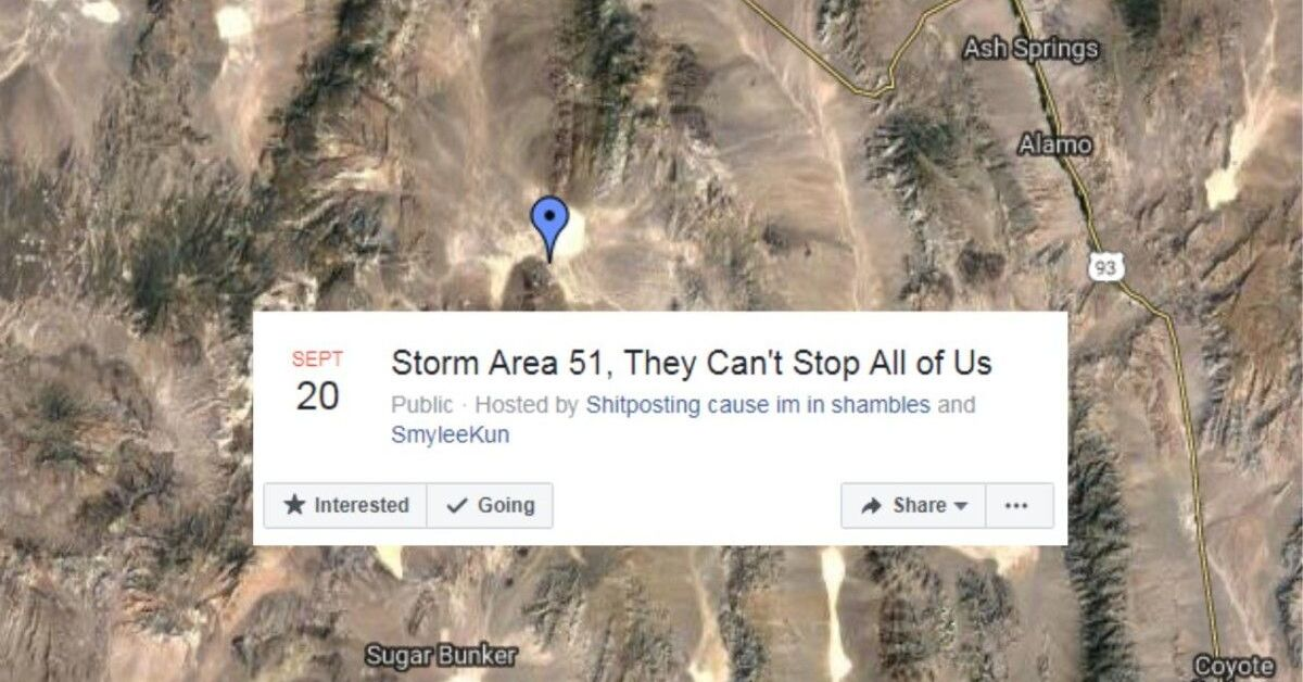 "Photo of 7 Hidden Facts about ""Storm Area 51 Event"" that You Should Know"