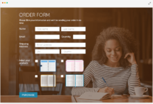 Photo of Order Form: How and Why to Use It on a Website?