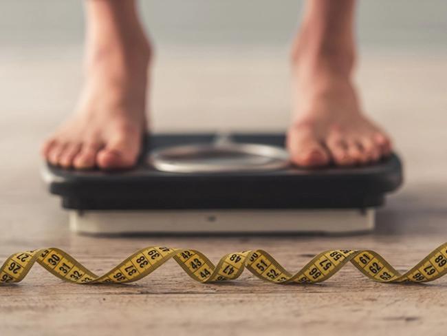 Being underweight