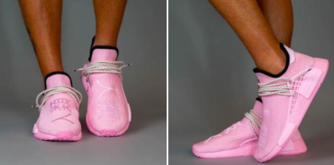 """Pharell x adidas NMD HU """"Pink"""""""