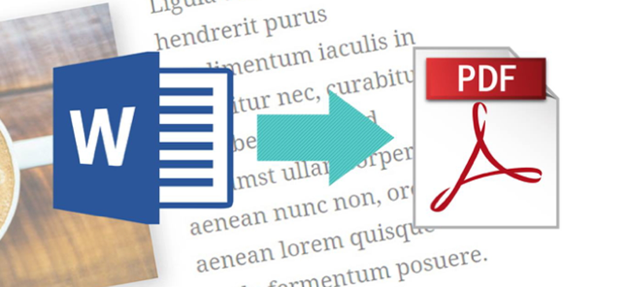 Convert a Microsoft Word Document to a PDF