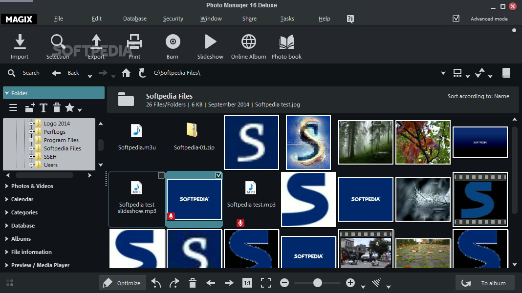Magix File Manager