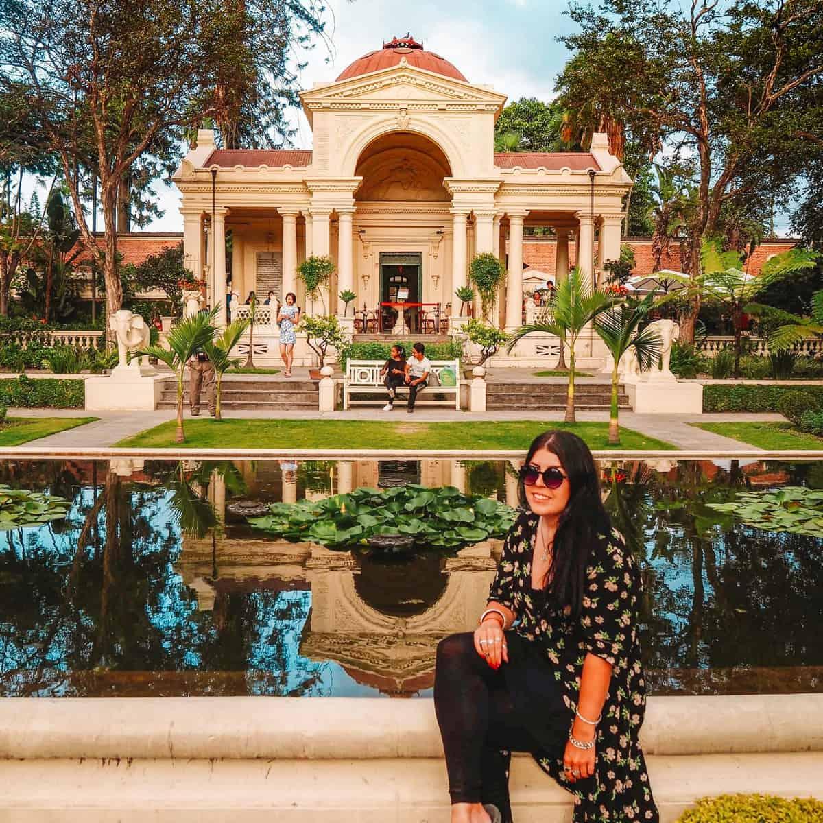 Garden of Dreams in Kathmandu