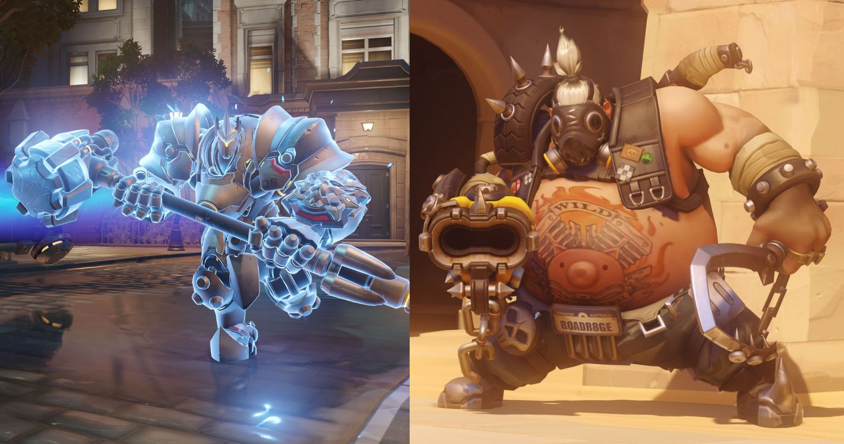 becoming a tank in Overwatch