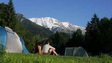 campsites in French shores