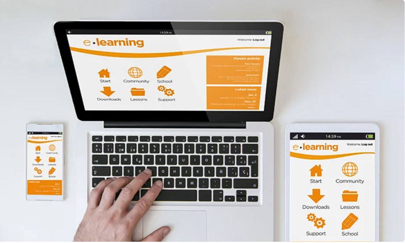 elearning suited to be consumed on any device