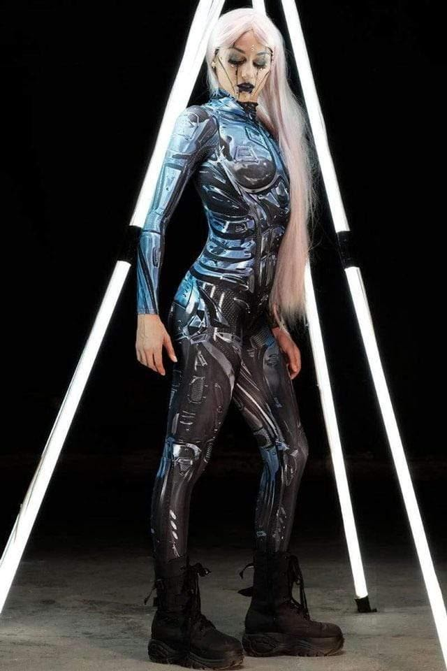A Cyber Chic Costume