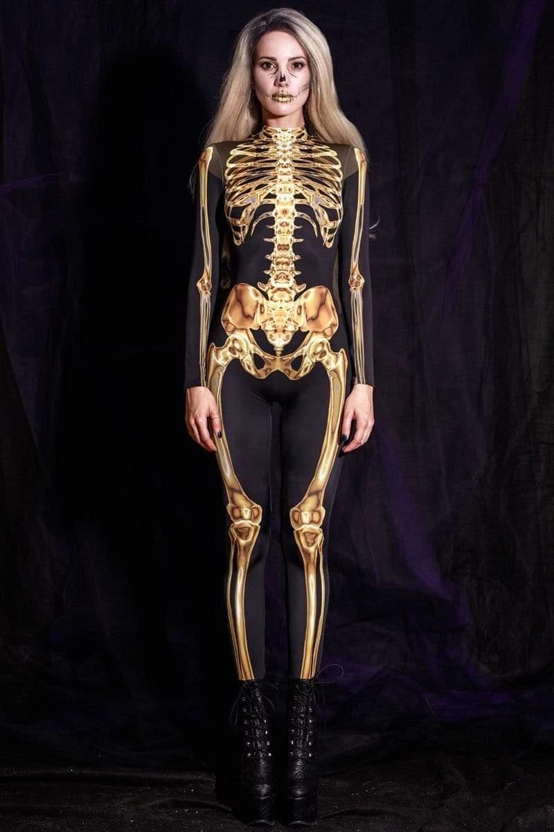 A Skeleton Costume