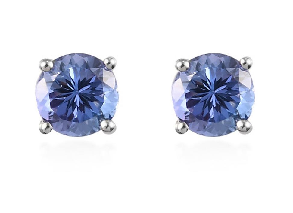 Tanzanite Stud Earrings