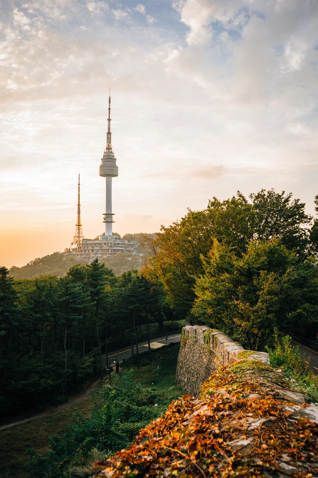 The-240-meter-Seoul-Tower Traveling to South Korea for The First Time