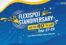 FlexiSpot's 5th Anniversary