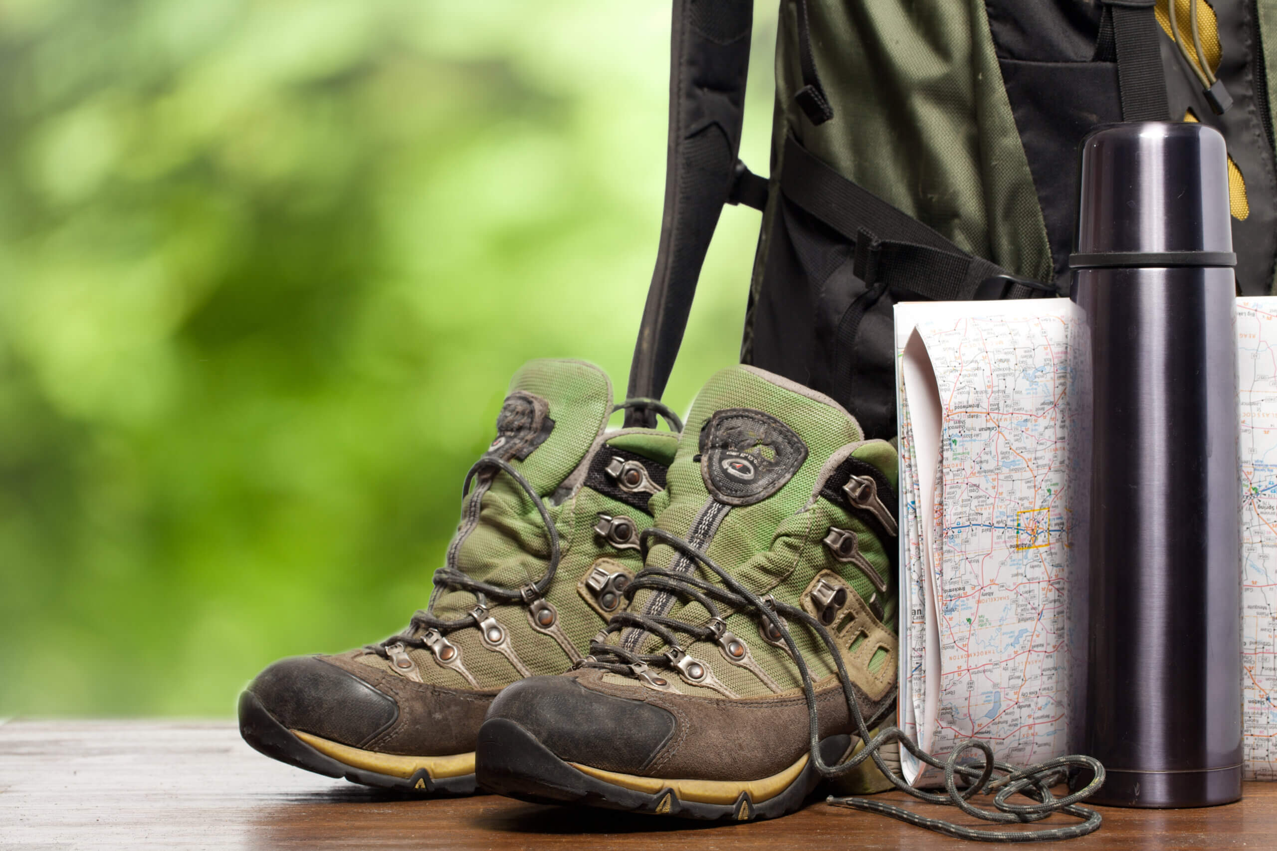 Shoes for camping